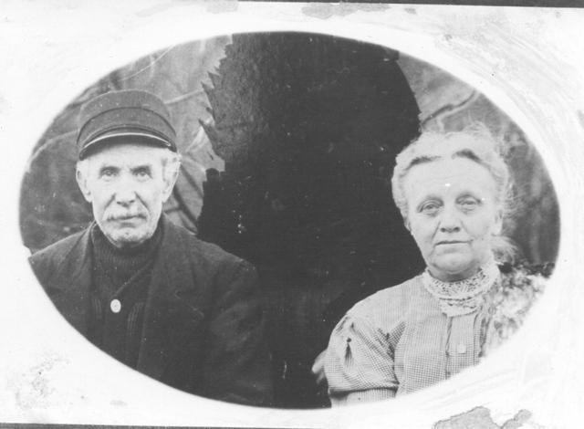 Grandpa and Grandma Snedden