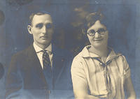 grandparents Whitsell circa 1925 25th Anniversary