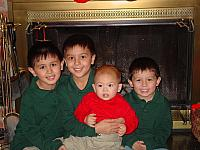 The four grandsons together
